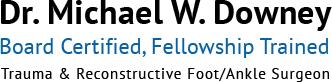 Dr. Michael W. Downey Logo